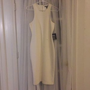 Express white perfect condition Midi Dress